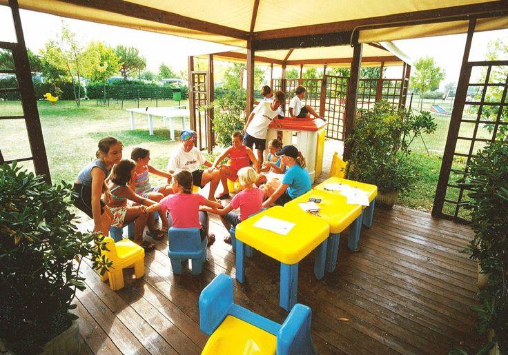 attività bambini, villaggio Garda Village, Sirmione