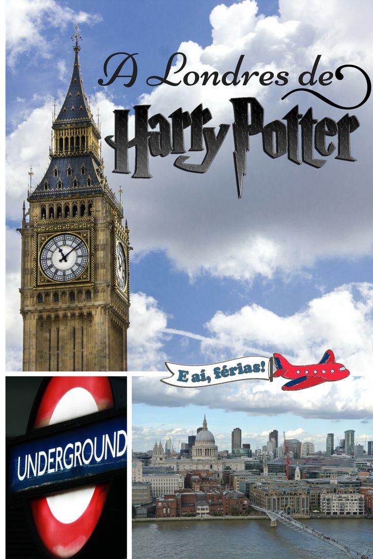 A Londres de Harry Potter. Roteiros baseados em Livros