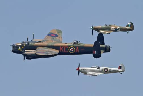 Battle of Britain Memorial Flight is based at RAF Coningsby