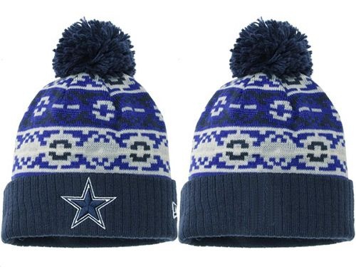 NFL Dallas Cowboys Stitched Knit Beanies 001