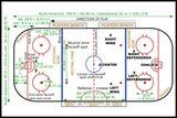 Hockey is a fast-paced game that can be hard to follow if you're new to the sport. Here's a quick overview of the rules of the game, along with a handy chart showing how the rink is configured.