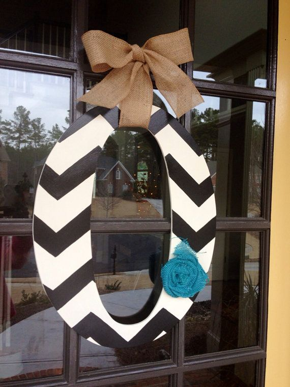 Hey, I found this really awesome Etsy listing at https://www.etsy.com/listing/175032703/door-hanger-initial-front-door-hanger
