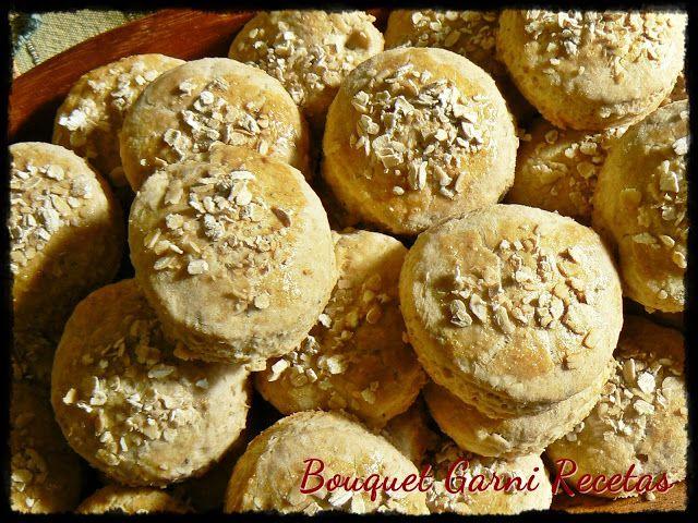 Bouquet Garni Recetas: Scones salados de avena