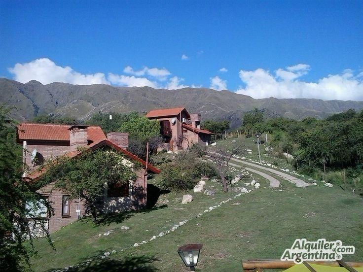 Antigal Cabañas Del Cerro - Cabaña en Villa De Merlo - Exterior