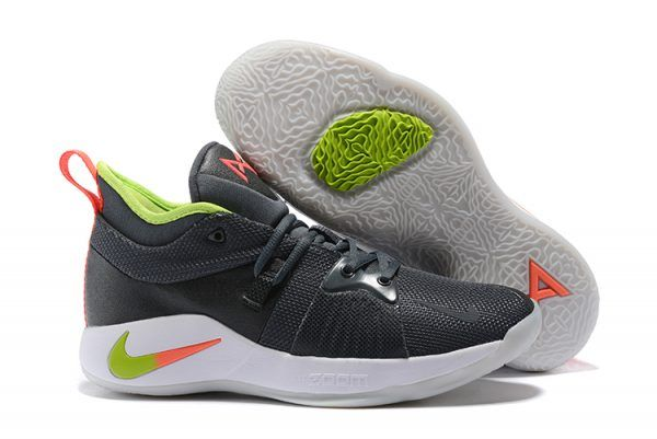 new style 3f498 948e4 2018 Mens Nike PG 2 Anthracite/Hot Punch-White-Wolf Grey ...