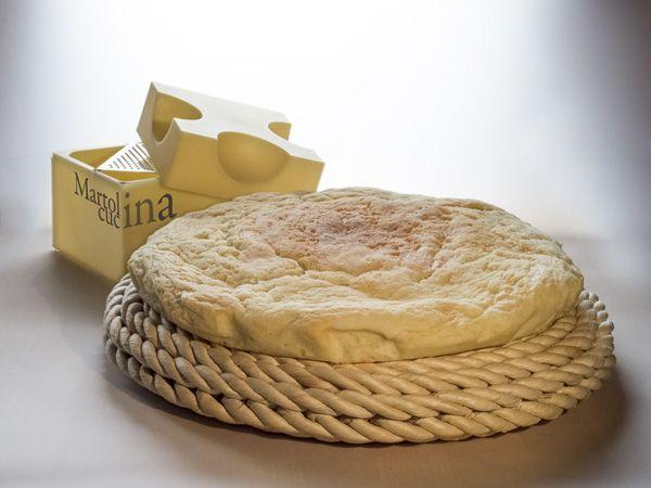 Focaccia al formaggio coi vasetti (anche in microonde)