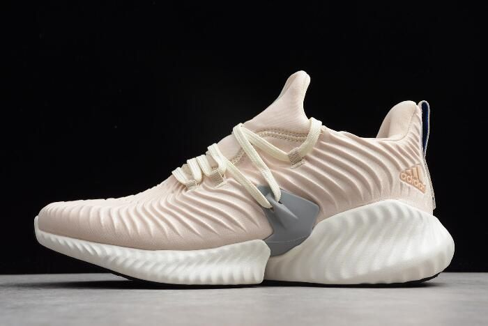 341a0c4a4fd71 adidas Alphabounce Instinct Linen Cloud White Grey Three B76039 in ...