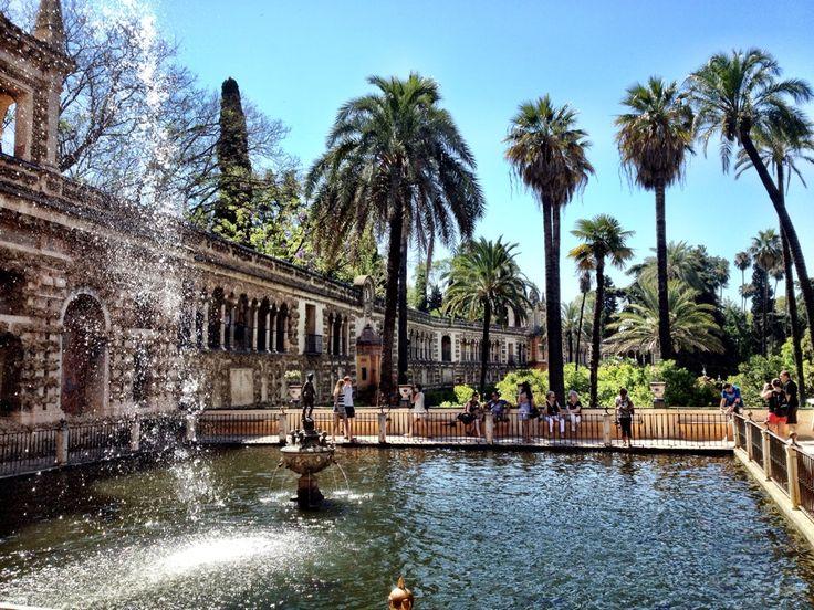 Real Alcázar de Sevilla in Sevilla, Andalucía Alcazar Seville, Spain