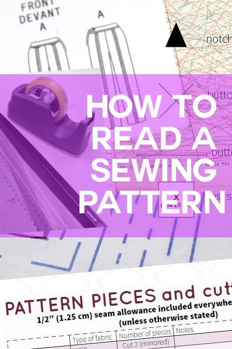 DIY tutorial: Sewing clothes for beginners: learn how to read a sewing pattern - written by Serger Pepper, exclusively 4 Craftsy Sewing Blog