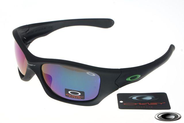 d48223a1acb low-cost Oakley Pit Bull Matte Black Frames Blue Iridium sales ...