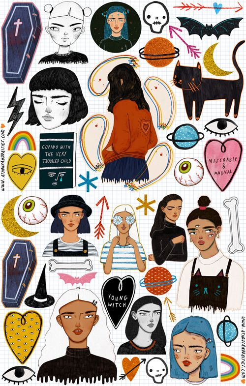 Sticker Sheet 4 $8.00