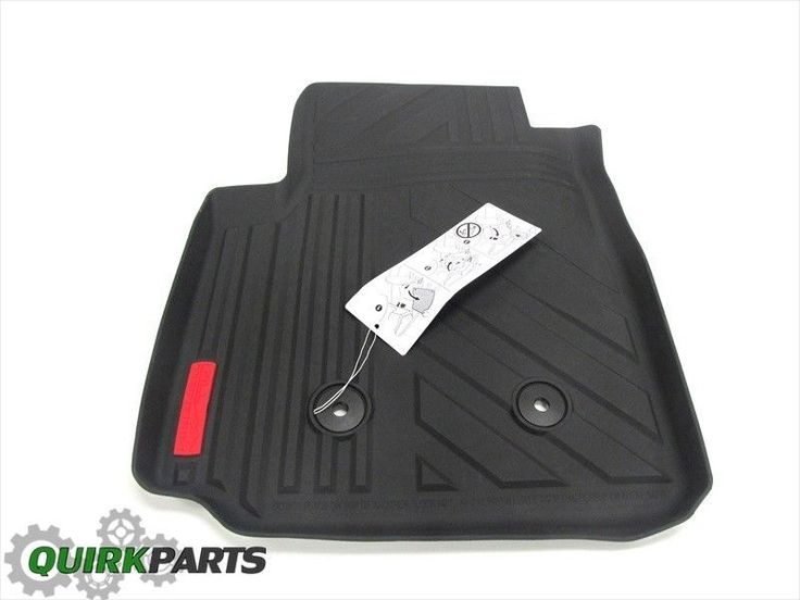 2015 Canyon Front Right & Left All Weather Floor Mat w/ All Terrain Logo OEM NEW #GM
