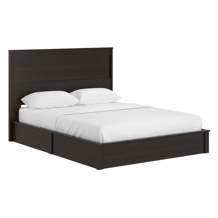 Ameriwood Home Crescent Point Platform Bed Size Queen