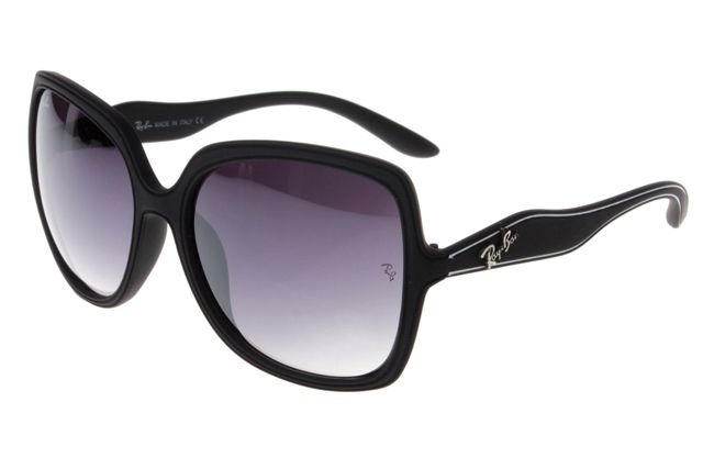 df2be0d1600 Cheap Ray Ban Jackie Ohh Sunglasses Black Frame gray lens Outlet For You!