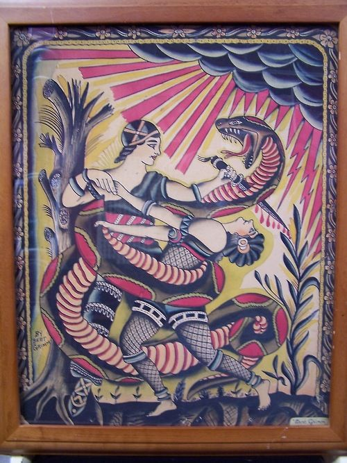 amund dietzel tattoo flash art | Pin Vintage Tattoos Tumblr on Pinterest