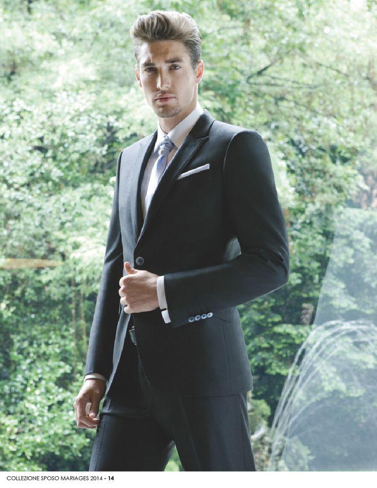 UOMO- 14 Perché l'#uomo di oggi è molto esigente quando si parla di #moda ed abbigliamento da #matrimonio. A lui #Mariages dedica capi di abbigliamento da matrimonio per l'uomo di classe. www.mariages.it
