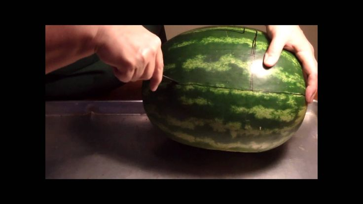 Baby Shower Food Idea - Watermelon Baby Carriage Fruit Bowl Carving