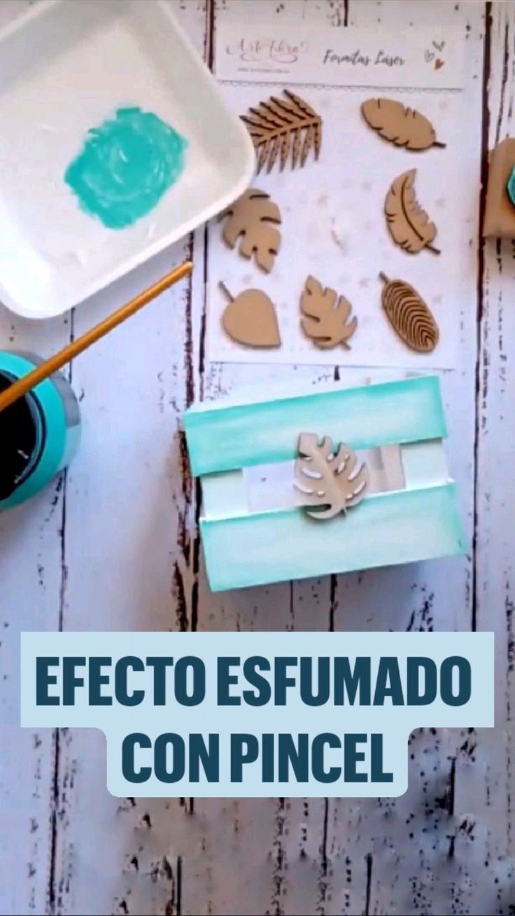 Pincel Angular, Wood Painting Techniques, Wood Projects, Projects To Try, Diy Household Tips, Magic Box, Diy Gift Box, Easy Home Decor, Creative Decor