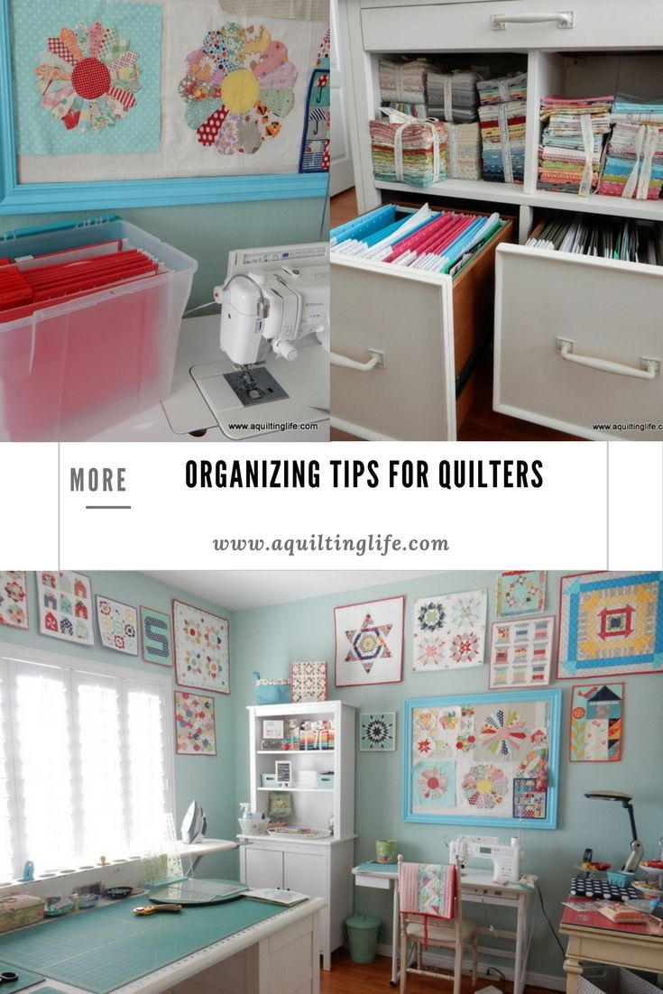 More Organizing Tips for Quilters | A Quilting Life - a quilt blog