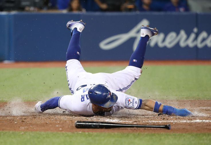 Toronto's Superman can't always be so graceful ... #GetDirty