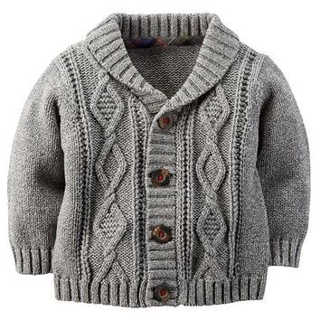 Carter's Baby Boy Cable Knit Cardigan