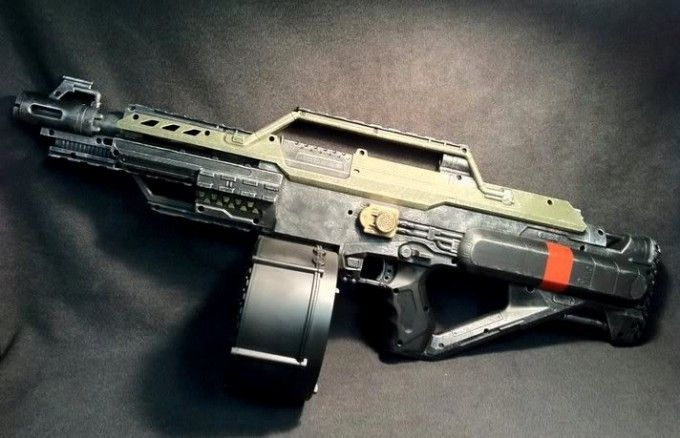 custom-nerf-stampede-red-modification