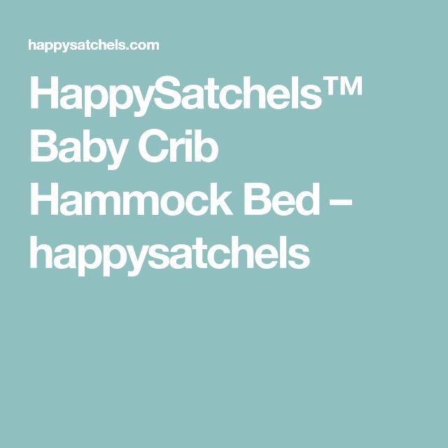 Best 25 Baby Hammock Ideas On Pinterest Natural Baby