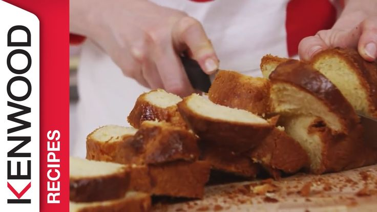 Brioche Recipe   Demonstrated with Kenwood Chef Titanium