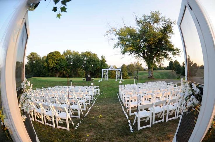 45 best images about receptions at dearborn country club for Indoor outdoor wedding venues