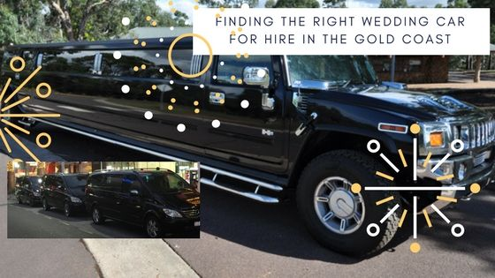 FINDING THE RIGHT WEDDING CAR FOR HIRE IN THE GOLD COAST