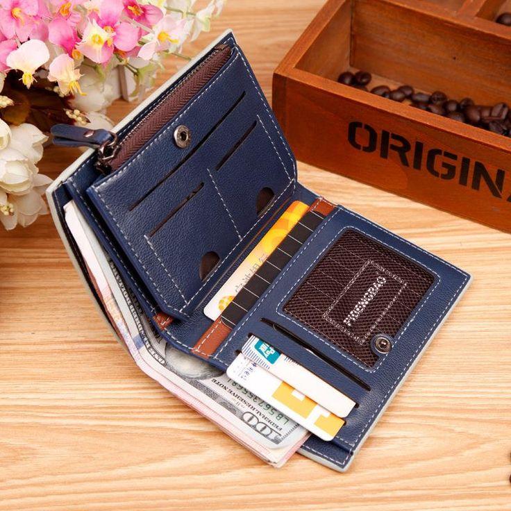 Компактный мужской бумажник за 270р. Купить можно здесь - http://ali.pub/lqz3b