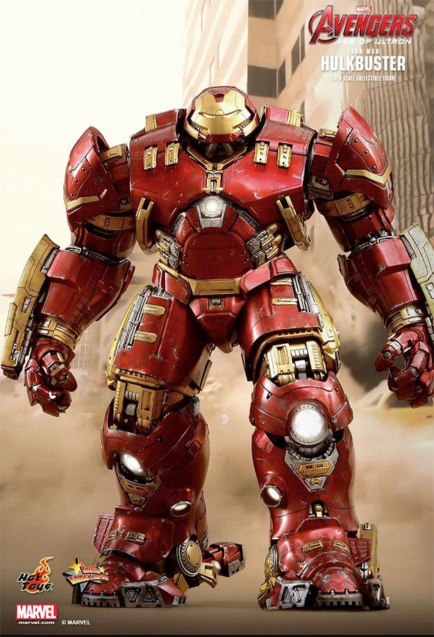 Hulkbuster Iron Man em Vingadores: Era de Ultron – Action Figure Perfeita Hot Toys