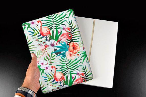 """Flamingo case for iPad Pro, iPad mini case, iPad Air silicone case, iPad 2/3/4 case, clear silicone case for iPad Pro 12"""", iPad back cover"""