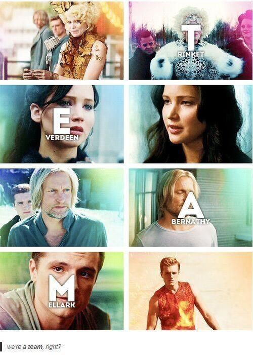 "The Hunger Games - ""TEAM"" Acronym"