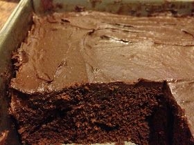Food Locker: Fastest chocolate fudge cake