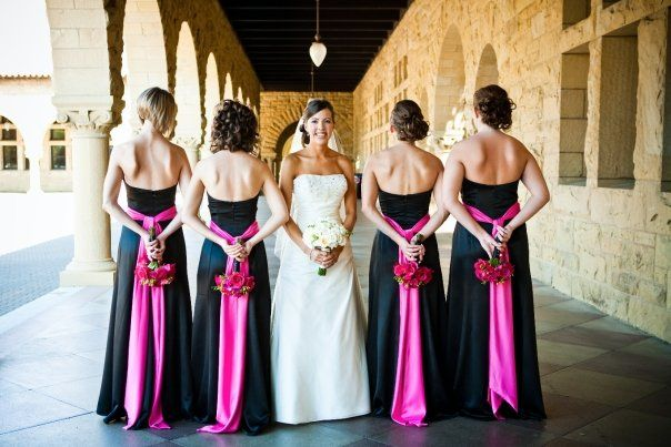 After Six style 2512 black and fuschia- but not strapless or these colors lol