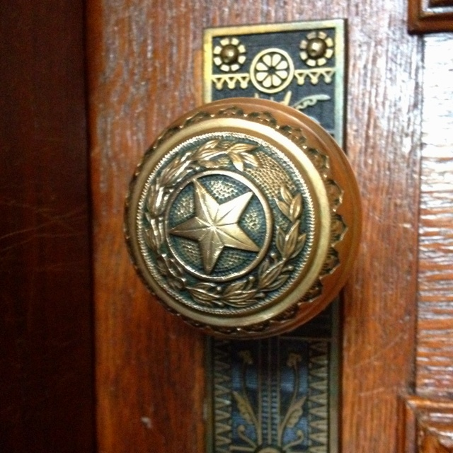 Doorknobs In The Texas State Capitol