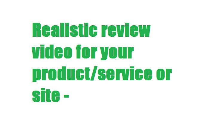 I Will Make A Realistic Review Video For You #Fiverr https://www.fiverr.com/s2/480ec242bd  #advertising #marketing #MarketingStrategy