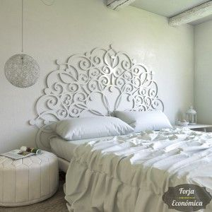 Cabecero de forja t nez mural cabeceros cama - Cabeceros de forja originales ...