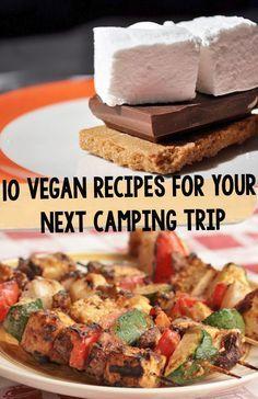 10 Recipes for Your Next Camping Trip https://onegr.pl/1qhUEN9 #vegan #camping #summer