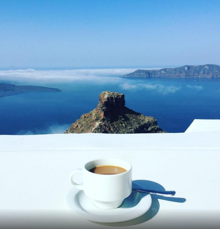 #Morning‬ bliss with a cup of coffee and this amazing ‪#view‬... Good morning everyone!  Photo by Mamenard on TripAdvisor