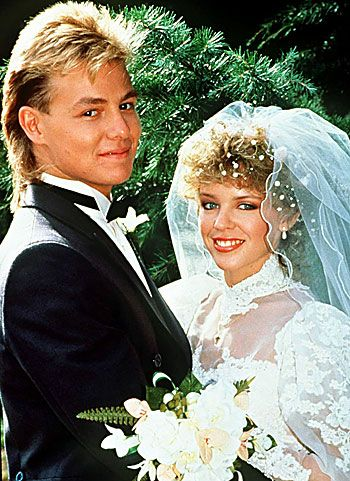 Scott and Charlene's wedding - Neighbours. 'Suddenly' by Angry Anderson - loved it!