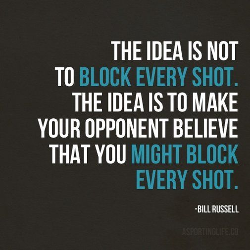 I know this was meant for basketball players, but this is a great quote for my goalkeeper daughter.
