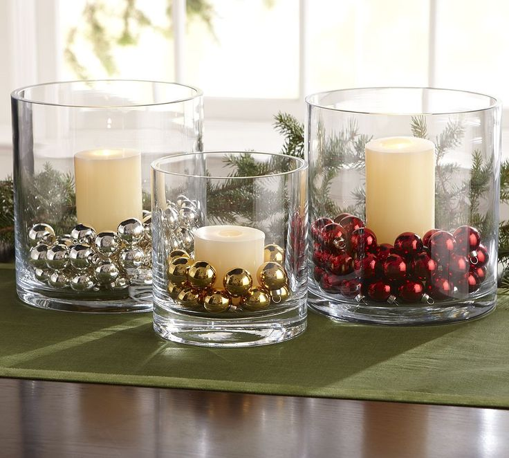 Dollar Store Christmas Lights Safe: Dollar Store Hurricanes And Beads. Easy Christmas