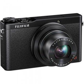 Fotoaparat Fujifilm XQ1 ima vgrajen X-Trans CMOS II senzor z 12MP in EXRII procesor. Skupaj zagotavljata kvalitetne fotografije, ISO12800 in izredno hitro delovanje.  Fujifilm XQ1 + XF1 case + memory card for just 379€  #fujifilm #fujixq1 #fotoaparati