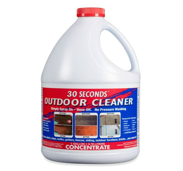 Vignette design spring cleaning in 30 seconds the before for Outdoor furniture cleaner