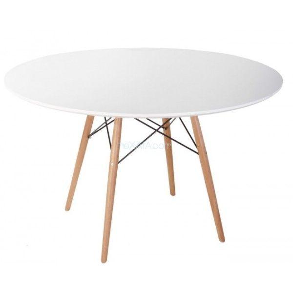 Стол обеденный Tavolo xz3 белый 120 см дерево iCOO