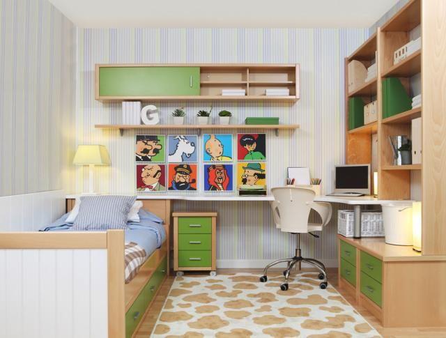 Modern fiúszoba tárolóbútorok