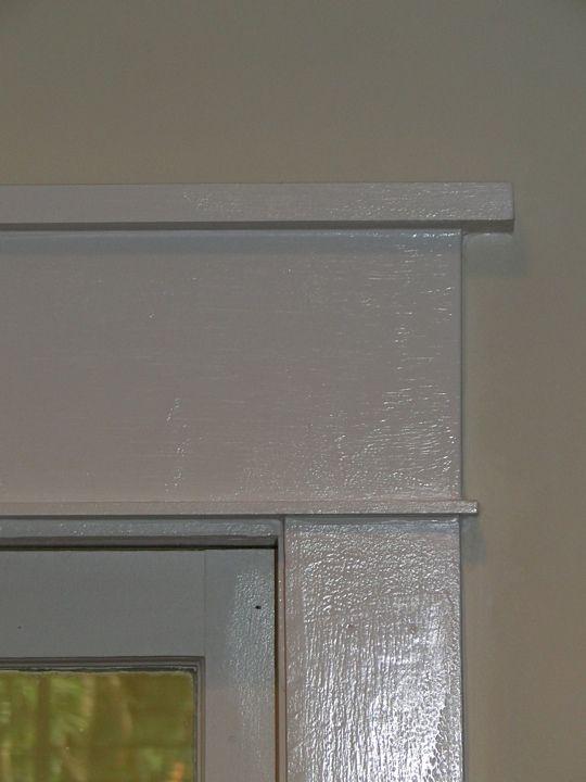 Window Trim Detail 34 Cap Overhang 1x6 Header 18
