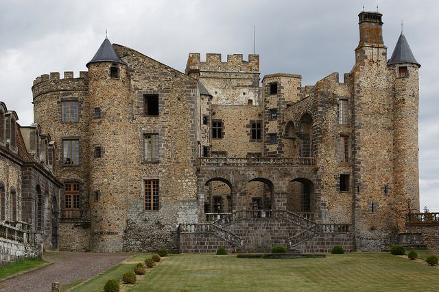 Château de Chazeron, by photostudio63 photographe clermont ferrand, via Flickr